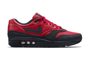 Nike Air Max 1 Leather Premium Gym Red/Black