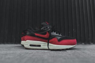 "Nike WMNS Air Max 1 Essential ""Black/Gym Red"" & ""Black/Gum"""
