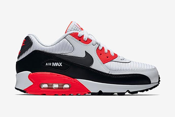 "Nike Air Max 90 Essential ""Bright Crimson"""