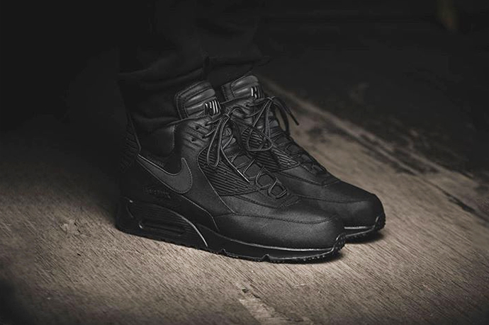 nike air max 90 mid winter black sale