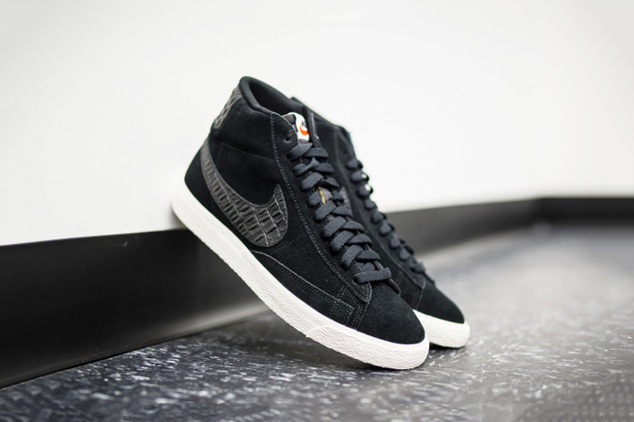 Nike Blazer Mid Black/Sail