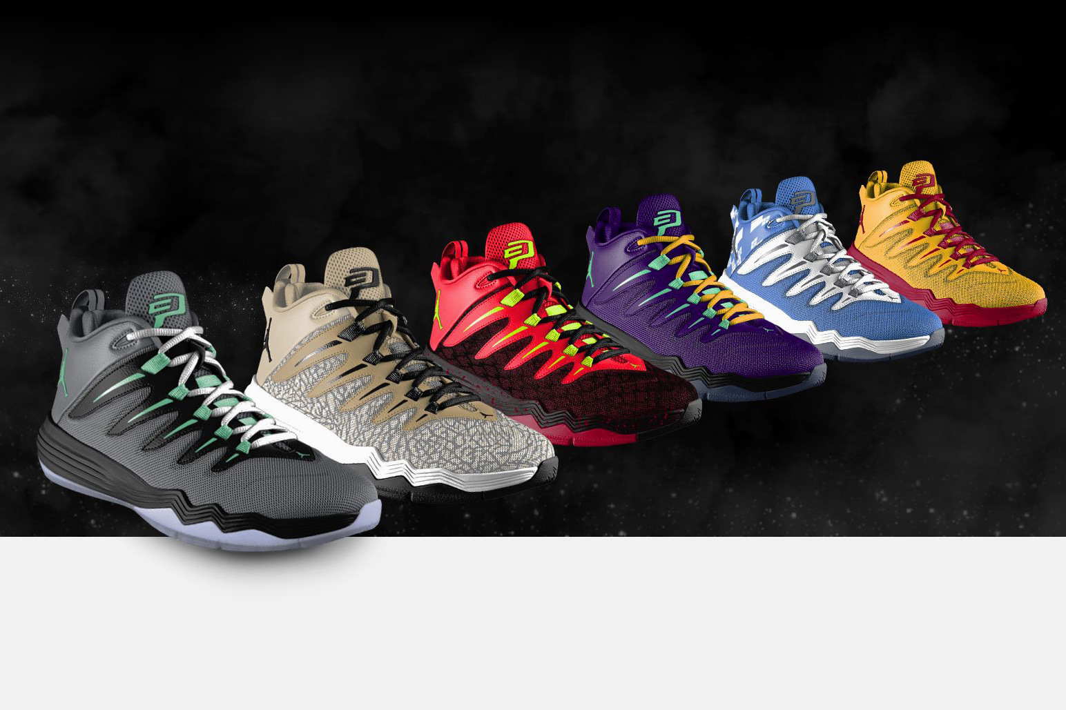 Create Chris Paul's Game Shoes