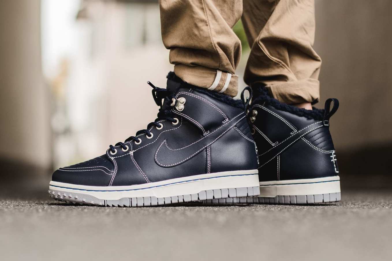 Did You Pick Up Either Pair Of The Nike Dunk High Be True To Your ...
