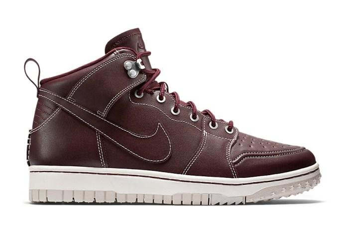 """Nike Dunk Comfort Sneakerboot """"Mahogany"""""""