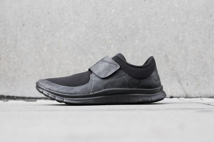 "Nike Free Socfly ""Black/Gray Camo"""