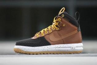 Nike Lunar Force 1 Duckboot Black/Light British Tan