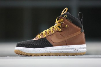 Nike Lunar Force 1 Duckboot Black/Light British Tan