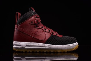 Nike Lunar Force 1 Duckboot Black/Team Red