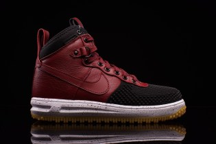 Nike Lunar Force 1 Duckboot Black/Team Red