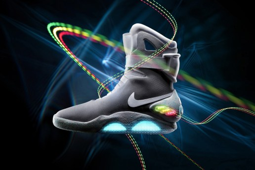The Nike MAG Power Laces in Action