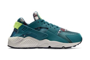 "Nike WMNS Air Huarache ""Ghost Green"""