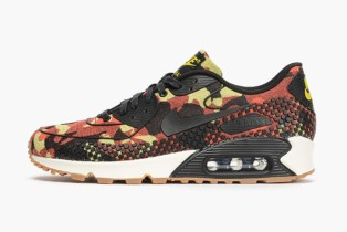 "Nike WMNS Air Max 90 JCRD PRM ""Bright Crimson"""