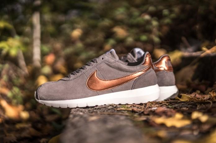 """Nike WMNS Roshe LD-1000 """"Iron/Metallic Red Bronze"""""""