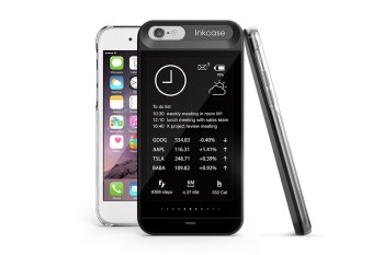 The OAXIS InkCase i6 Adds a Second Screen to Your iPhone