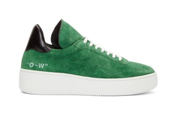 OFF-WHITE c/o VIRGIL ABLOH WMNS Green Suede Meadow Sneaker