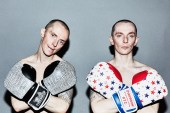 OVERTHROW NYC Limited Edition Boxing Gloves