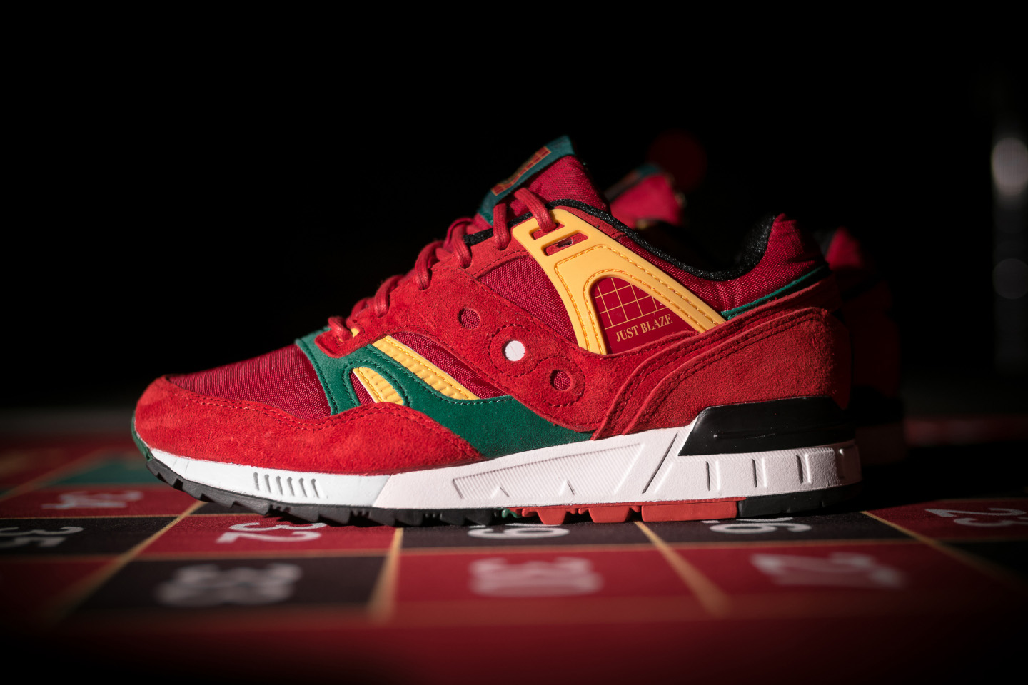 "Packer by Just Blaze: Saucony Grid SD ""Casino"""
