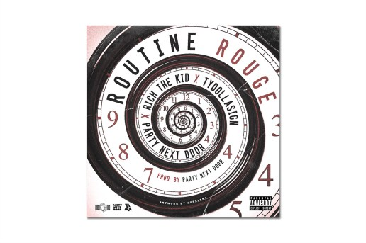 PARTYNEXTDOOR featuring Rich The Kid & Ty Dolla $ign - Routine Rouge