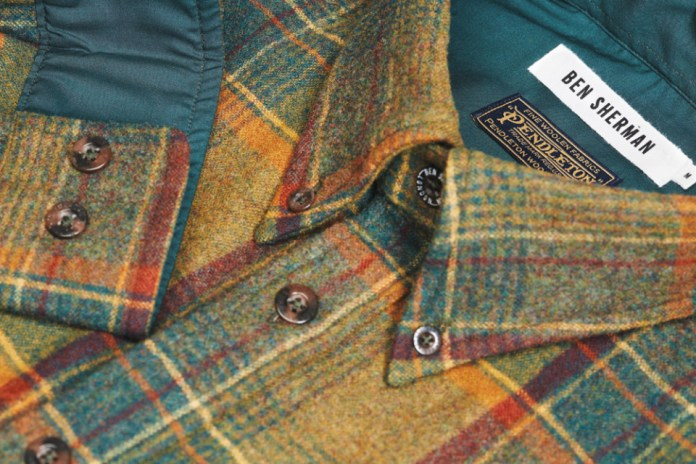 Pendleton x Ben Sherman 2015 Fall Collection