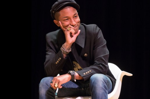Watch Pharrell's NYC Q&A in Full