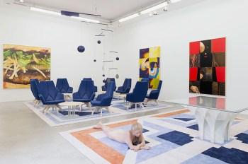 "Pierre Paulin ""Paulin, Paulin, Paulin"" Exhibition @ Gallerie Perrotin Paris"