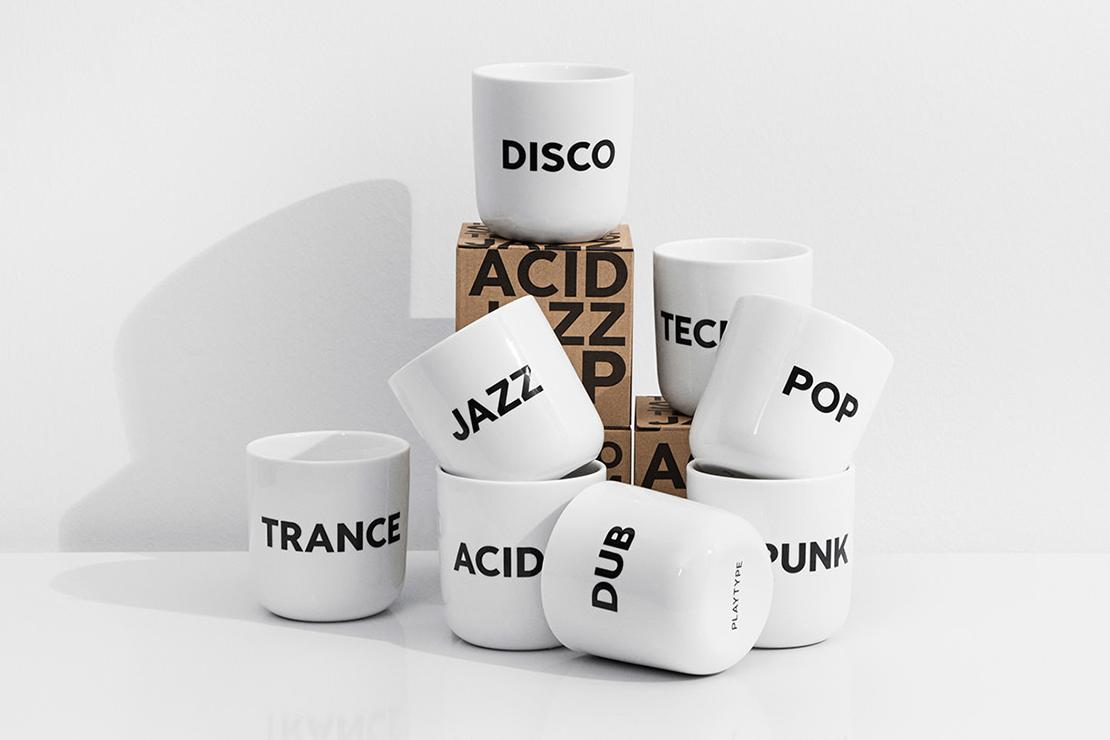 "PLAYTYPE ""Beat"" Mug Collection"