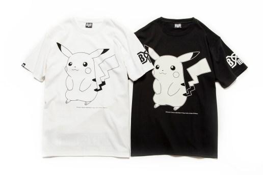 Pokémon x BOUNTY HUNTER Pikachu Collaboration T-Shirt