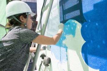 POW! WOW! Mural in Tokyo Welcomes the Festival's Japan Debut