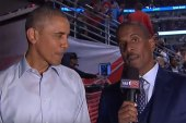President Obama Talks Chicago Bulls and More During Opening Night