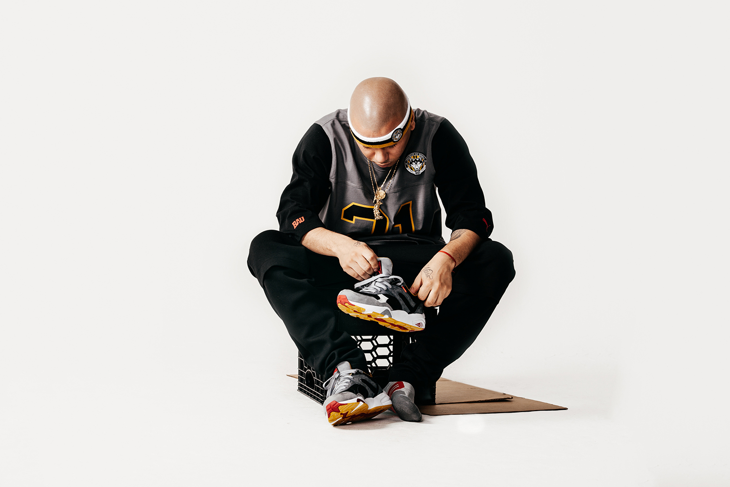 """PUMA x Frank the Butcher Present the B.A.U. """"Eat What You Kill"""" Collection"""