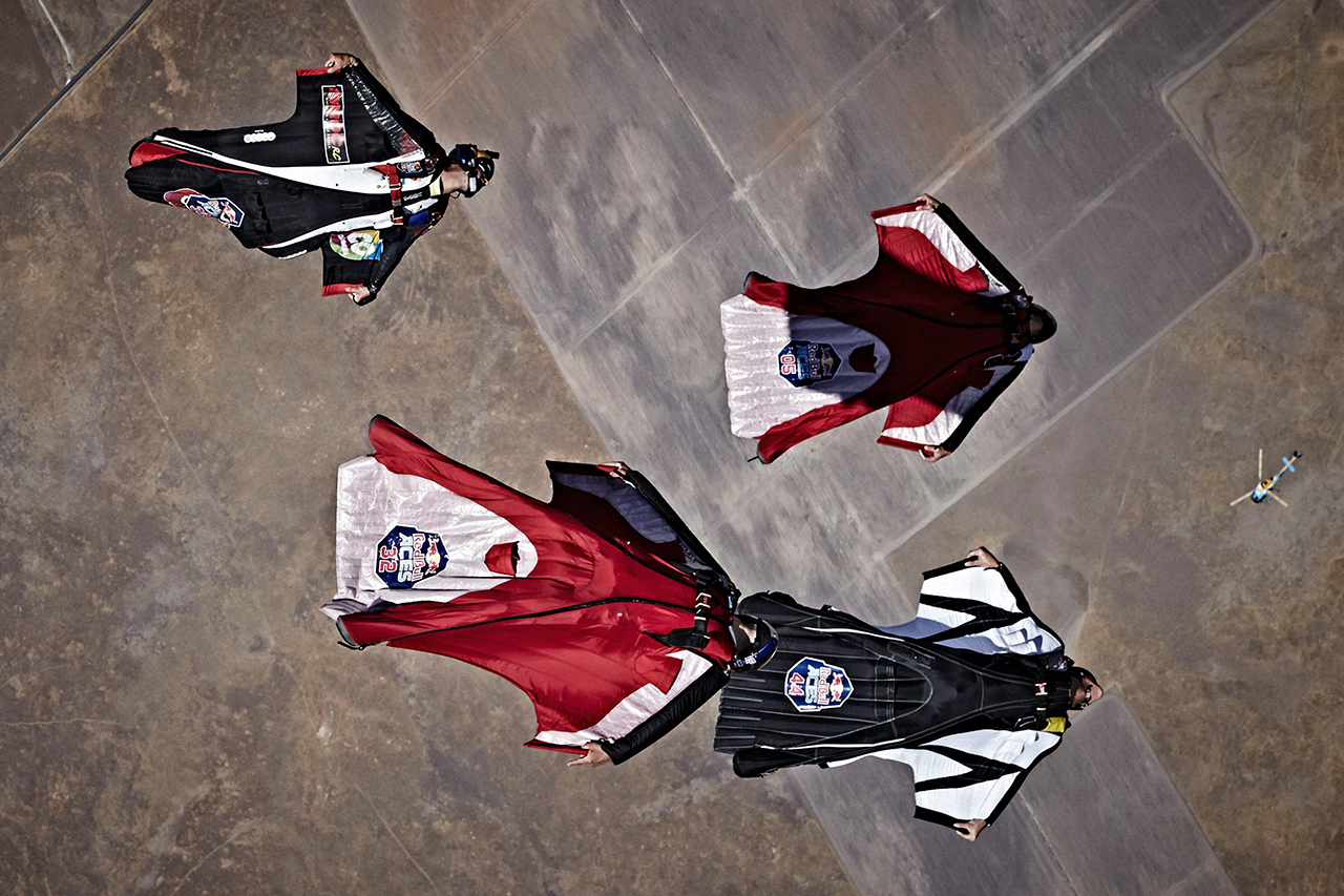 Wingsuit Racers Plummet From 8,000 Feet in Red Bull's New Sport
