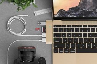 The USB Adaptor That Blends Into Your MacBook