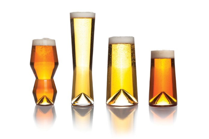 """Sempli Designs Different Glasses for Different Beers in """"Monti"""" Collection"""