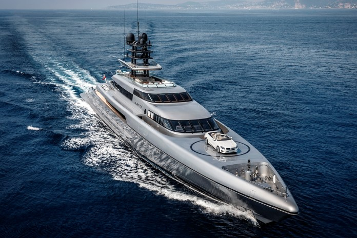 The World's Fastest Superyacht Is $90 Million USD & Comes With a Helipad