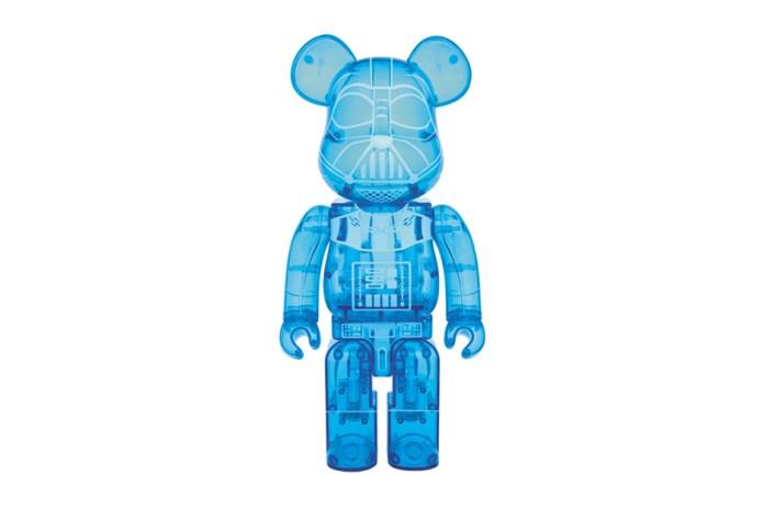 Star Wars x Medicom Toy BEARBRICK Darth Vader Holographic Toy