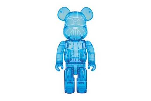 Star Wars x Medicom Toy BEARBRICK Darth Vader Holographic Toy
