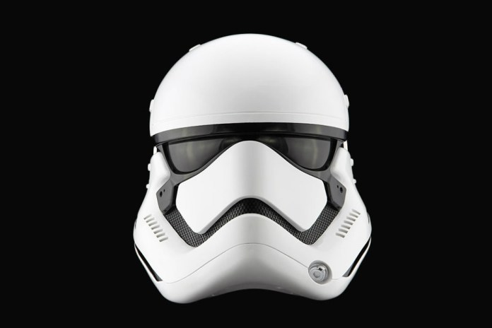 'Star Wars: The Force Awakens' Replica Stormtrooper Helmet