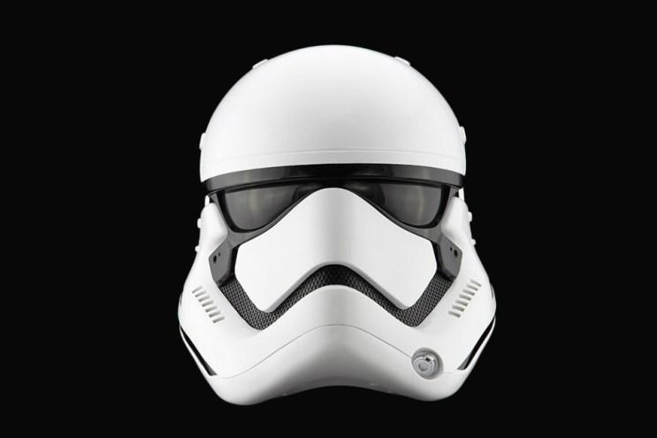 'Star Wars: The Force Awakens' Replica Stormtrooper Helmet