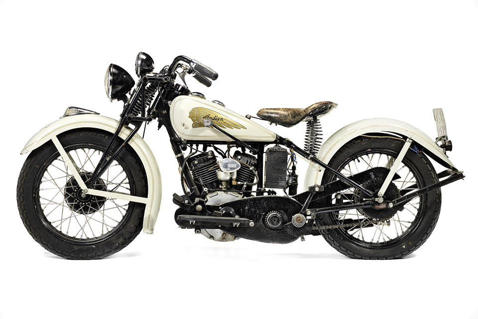 Steve McQueen's 1934 Indian Sport Scout Motorcycle Is up for Auction