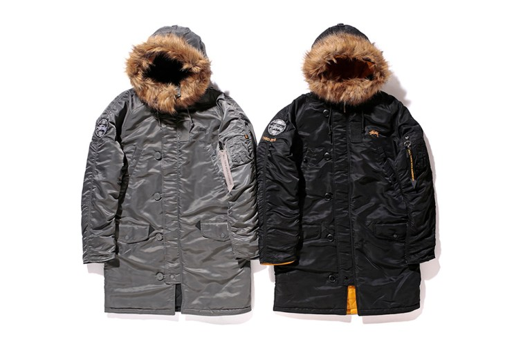 Stussy x Alpha Industries 35th Anniversary Collection