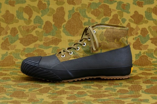 STUSSY Livin' GENERAL STORE x MoonStar 2015 Fall/Winter Camo Rain Shoes