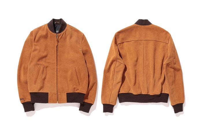 Stussy x Schott NYC 2015 Fall/Winter Suede Jacket