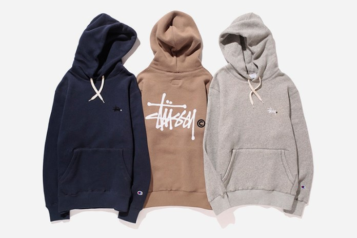 "Stussy x Champion 2015 Fall/Winter ""Fleece"" Collection"