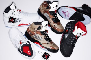 UPDATE: Supreme x Air Jordan 5 Release Date Officially Announced