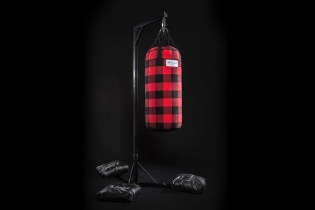 "The Hundreds ""Highland"" Punching Bag & Gloves"