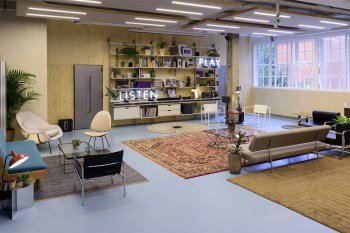 A Behind the Scenes Look at the Making of London's Sonos Studio