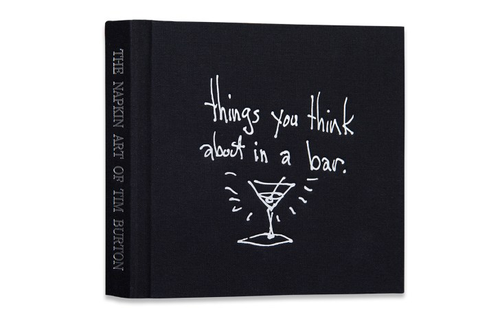'The Napkin Art of Tim Burton' Book