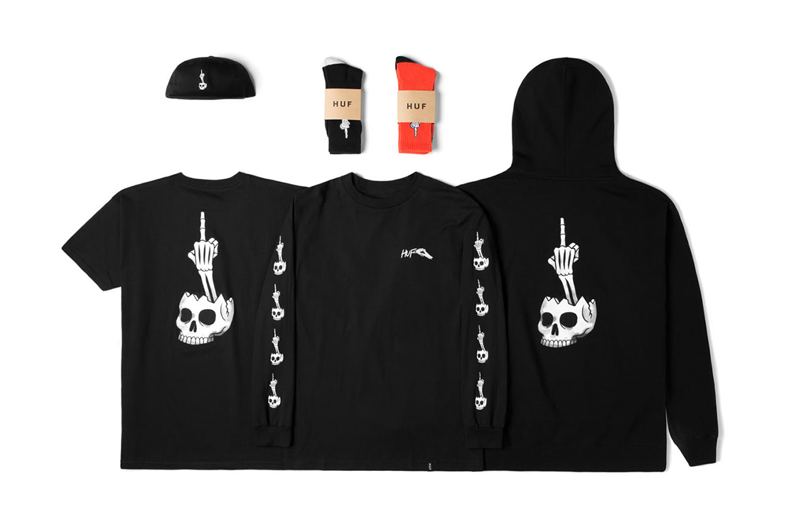 "Todd Francis x HUF 2015 ""Halloween"" Pack"