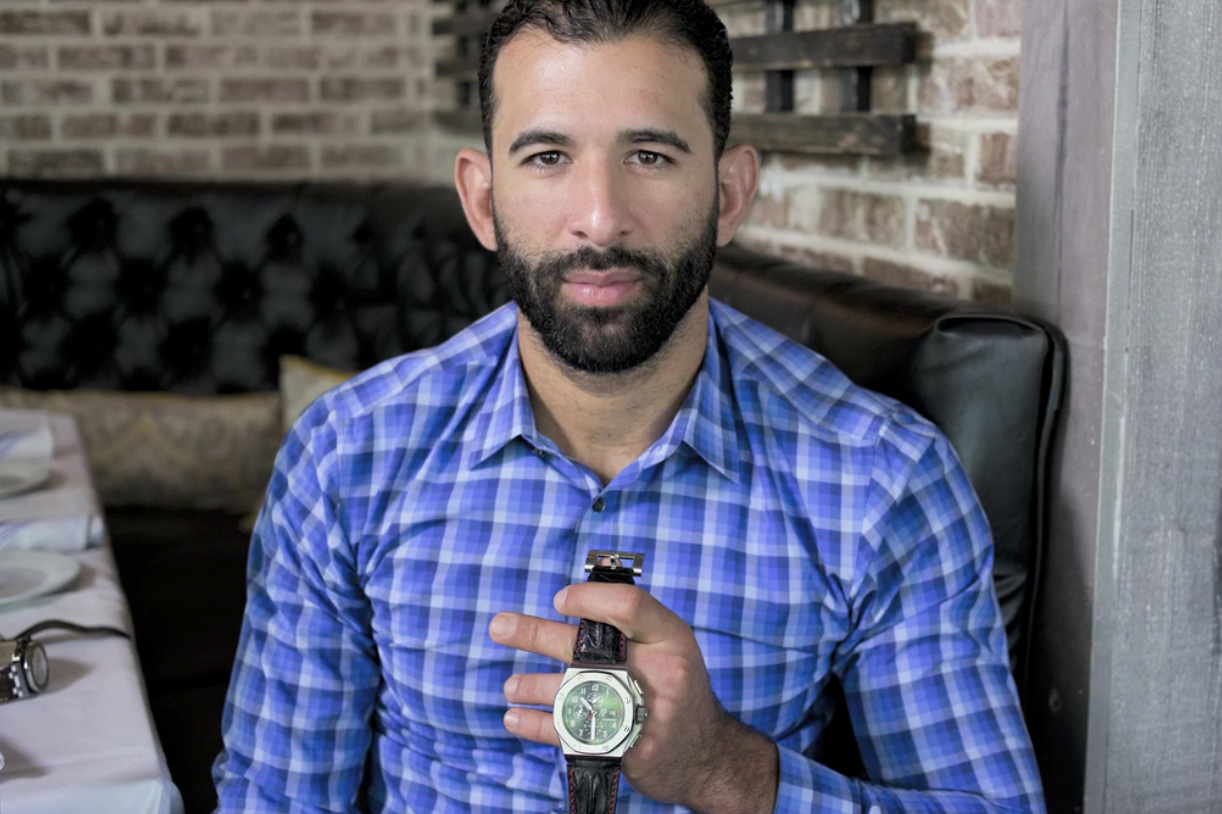 Toronto Blue Jays' José Bautista Dissects His Watch Collection