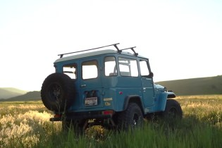 Going Off-Road With the Iconic Toyota FJ40